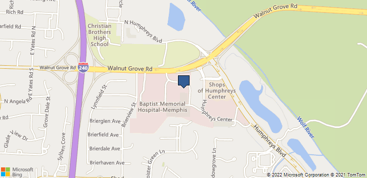 6029 Walnut Grove Rd Memphis, TN, 38120 Map
