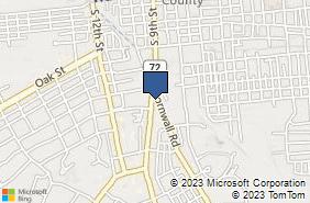 Bing Map of 605 Cornwall Rd Lebanon, PA 17042