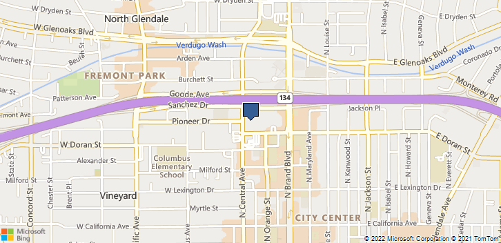 610 N Central Ave 102 Glendale, CA, 91203 Map
