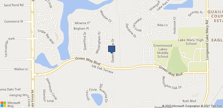 610 Queensbridge Dr Lake Mary, FL, 32746 Map