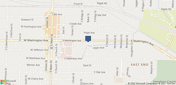 611 E Washington Ave Jonesboro, AR, 72401 Map