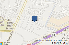 Bing Map of 6116 Reading Rd Rosenberg, TX 77471
