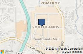 Bing Map of 6155 S Main St Ste 290 Aurora, CO 80016