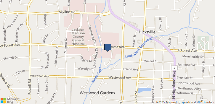 616 W Forest Ave Jackson, TN, 38301 Map