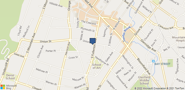 62 S Fullerton Ave Montclair, NJ, 07042 Map