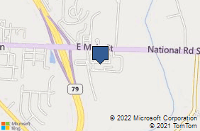 Bing Map of 620 E Main St Ste J Hebron, OH 43025