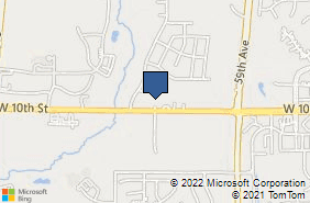 Bing Map of 6200 W 9th St # 2b Greeley, CO 80634