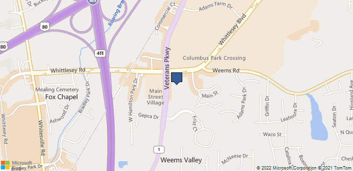 6298 Veterans Pkwy Ste 6  Columbus, GA, 31909 Map