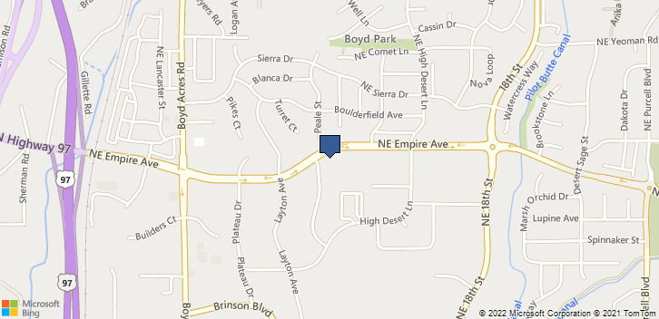 63056 Lower Meadow Drive, Suite 190 Bend, OR, 97701 Map