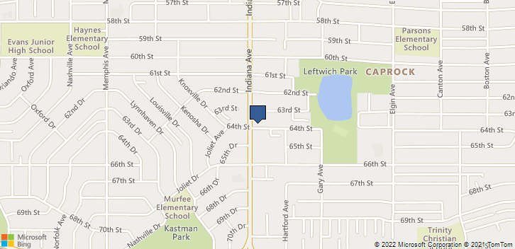 6309 Indiana Ave Lubbock, TX, 79413 Map