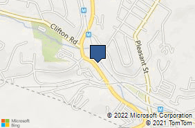 Bing Map of 6321 Library Rd South Park, PA 15129