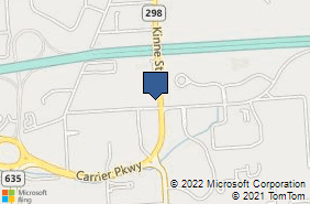 Bing Map of 6383 Court Street Rd East Syracuse, NY 13057