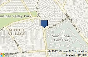 Bing Map of 6477 Dry Harbor Rd Middle Village, NY 11379