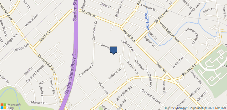 65 Jackson Dr Fl 3  Cranford, NJ, 07016 Map