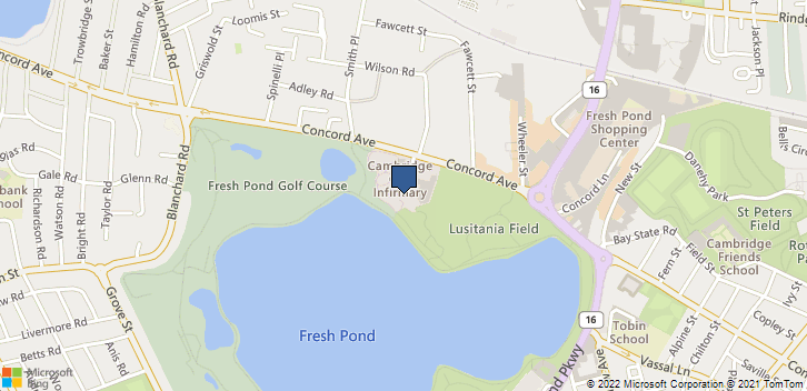 650 Concord Ave Cambridge, MA, 02138 Map