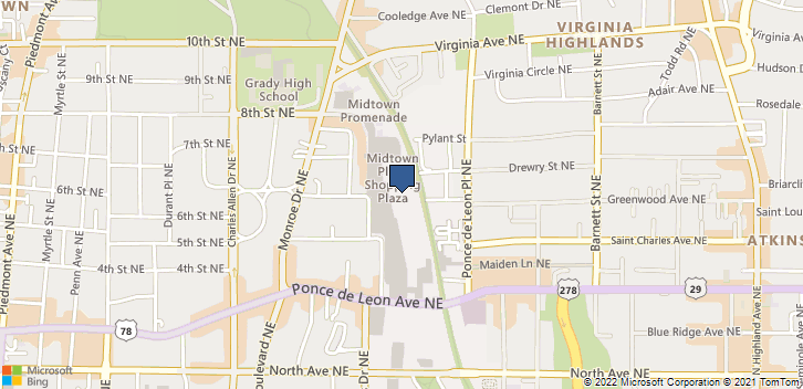 650 Ponce De Leon Ave NE  Atlanta, GA, 30308 Map