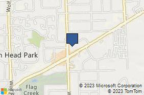Bing Map of 6555 Willow Springs Rd Ste 10 La Grange Highlands, IL 60525