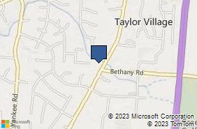 Bing Map of 6581 Cincinnati Dayton Rd Liberty Township, OH 45044