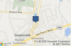 Bing Map of 66 Glen Cove Rd Greenvale, NY 11548