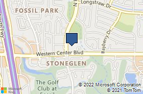Bing Map of 6624 N Riverside Dr Unit 310 Fort Worth, TX 76137