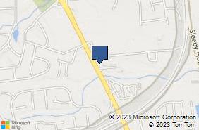 Bing Map of 665 Hwy 35 Middletown, NJ 07748