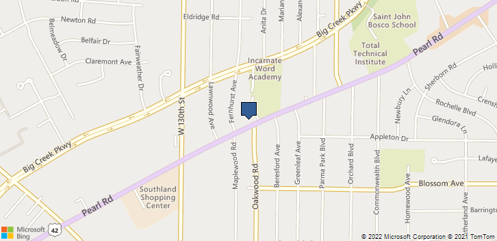 6650 Pearl Rd, 202 Cleveland, OH, 44130 Map
