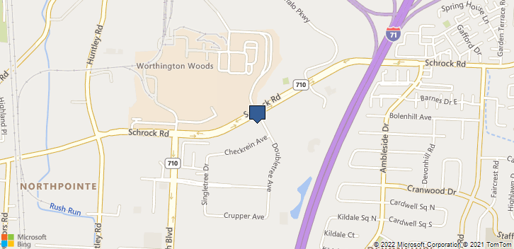 6685 Doubletree Ave Columbus, OH, 43229 Map