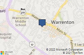 Bing Map of 67 W Lee St Unit 201 Warrenton, VA 20186
