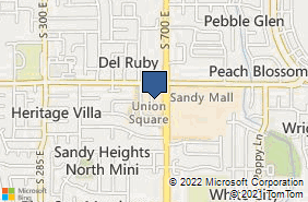 Bing Map of 675 E Union Sq Sandy, UT 84070