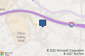 Bing Map of 67925 Banfield Rd Saint Clairsville, OH 43950