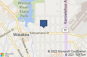 Bing Map of 680 Manono St Hilo, HI 96720