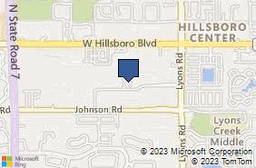 Bing Map of 6810 Lyons Tech Cir Ste 155 Coconut Creek, FL 33073