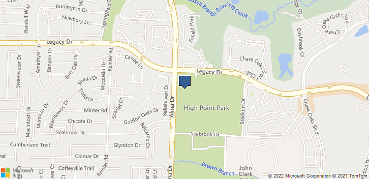 6900 Alma Drive, Suite 180 Plano, TX, 75023 Map