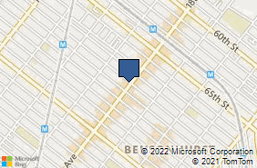 Bing Map of 6902 18th Ave Brooklyn, NY 11204