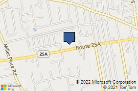 Bing Map of 691 Route 25a Miller Place, NY 11764