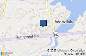 Bing Map of 6920 Woodlake Commons Loop Midlothian, VA 23112