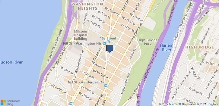 7 Audubon Ave New York, NY, 10032 Map