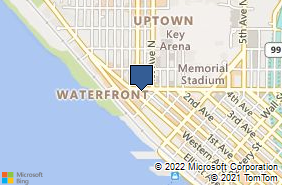 Bing Map of 7 Denny Way Seattle, WA 98109