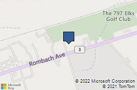 Bing Map of 70 Fairway Dr Ste 3 Wilmington, OH 45177