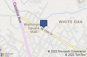Bing Map of 700 W 15th St Washington, NC 27889