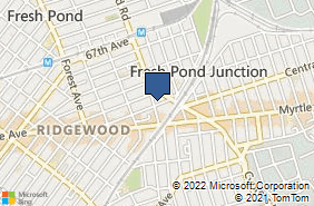 Bing Map of 7019 Fresh Pond Rd Ridgewood, NY 11385