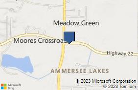 Bing Map of 7020 Highway 22 Montevallo, AL 35115