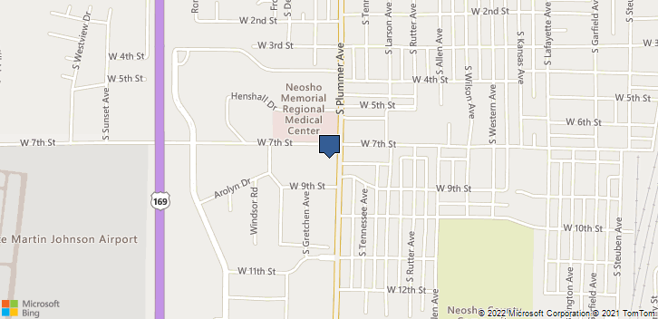 703 S Plummer Ave Chanute, KS, 66720 Map