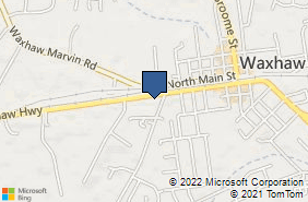 Bing Map of 703 W South Main St Ste A Waxhaw, NC 28173