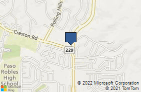 Bing Map of 705 Golden Hill Rd Ste 103 Paso Robles, CA 93446