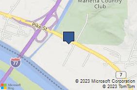 Bing Map of 706 Pike St Ste 2 Marietta, OH 45750