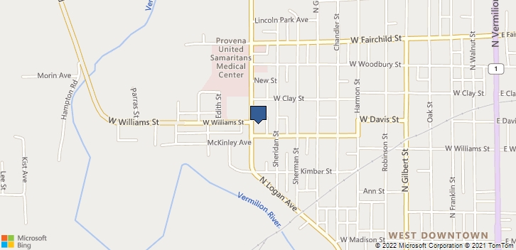 707 N Logan Ave Danville, IL, 61832 Map