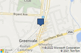 Bing Map of 71 Glen Cove Rd Greenvale, NY 11548