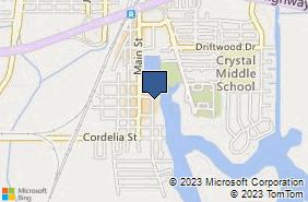 Bing Map of 710 Kellogg St Ste B Suisun City, CA 94585