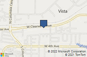 Bing Map of 7103 W Clearwater Ave Ste E Kennewick, WA 99336
